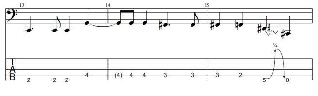 Vulture Bass Segment 01